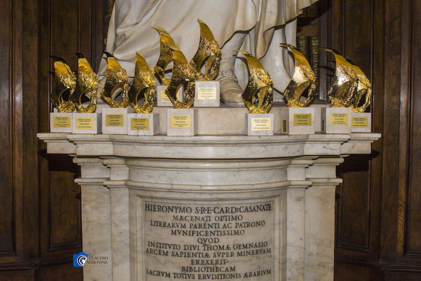 Premi_ statuette in bronzo dello scultore Alessandro Marrone