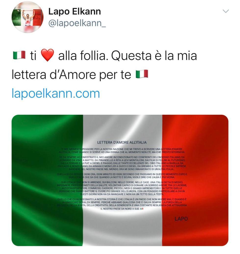 Tweet Lapo_300320